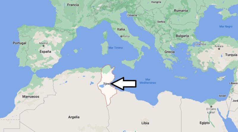 ¿Dónde está Túnez