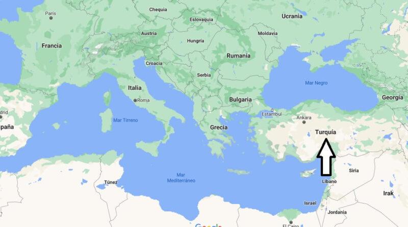 ¿Dónde está Turquía