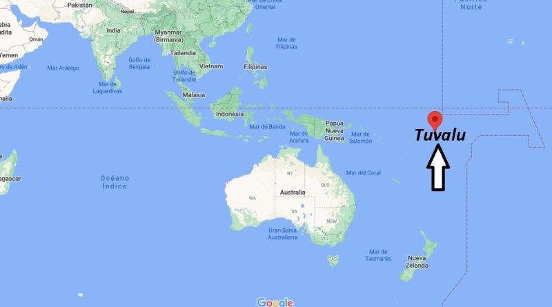 ¿Dónde está Tuvalu