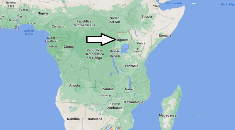 ¿Dónde está Uganda
