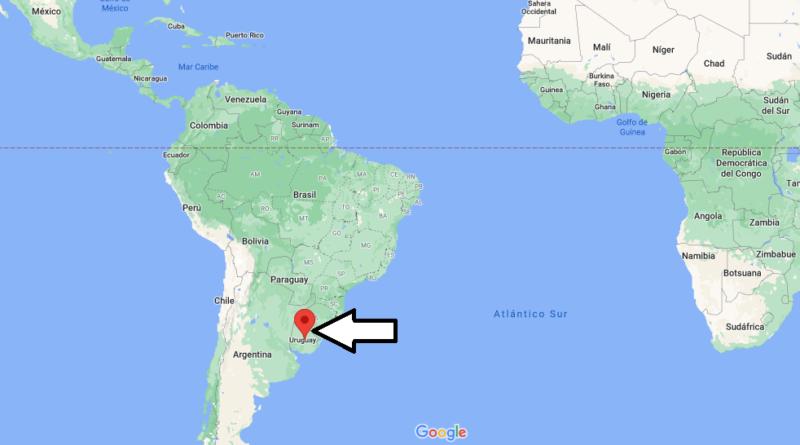 ¿Dónde está Uruguay