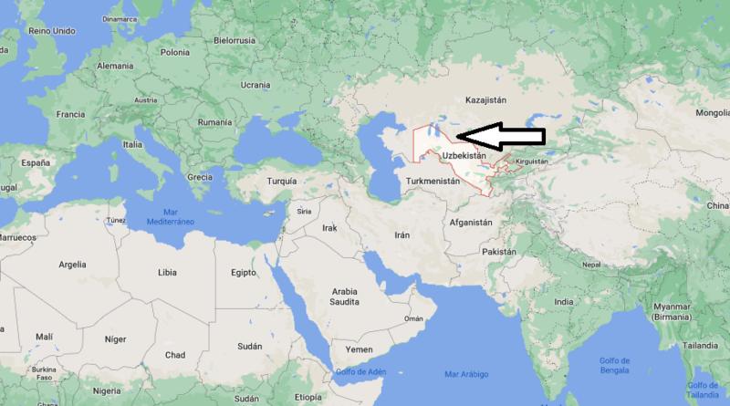 ¿Dónde está Uzbekistán