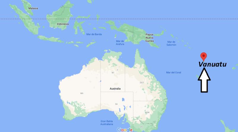 ¿Dónde está Vanuatu
