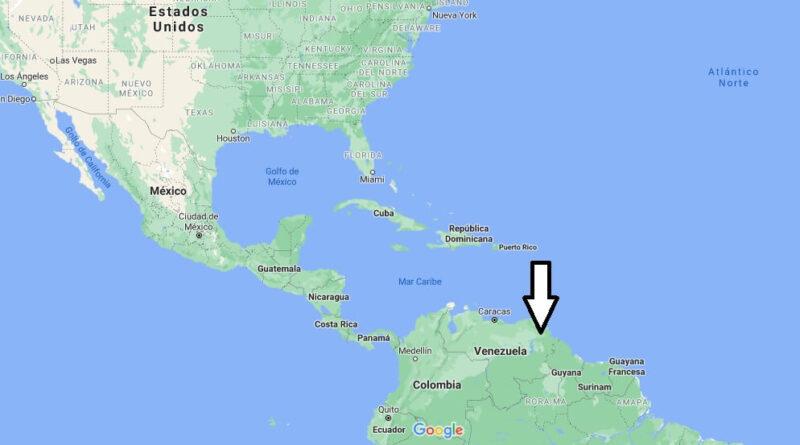 ¿Dónde está Venezuela