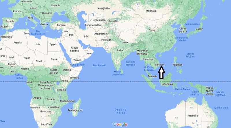 ¿Dónde está Vietnam