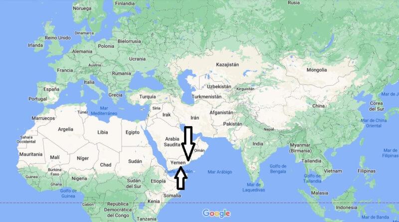 ¿Dónde está Yemen