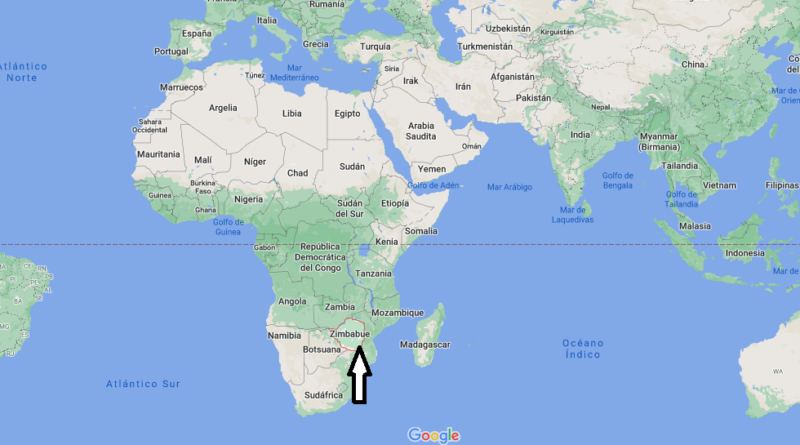 ¿Dónde está Zimbabue