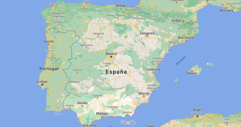 ¿Dónde queda Andalucia