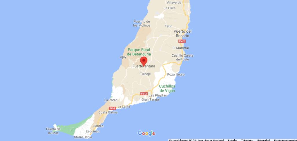 ¿Dónde queda Fuerteventura