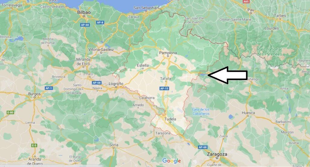 ¿Dónde queda Navarra