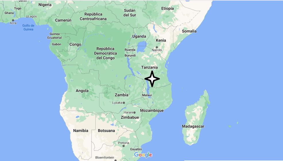¿Dónde queda Tanzania