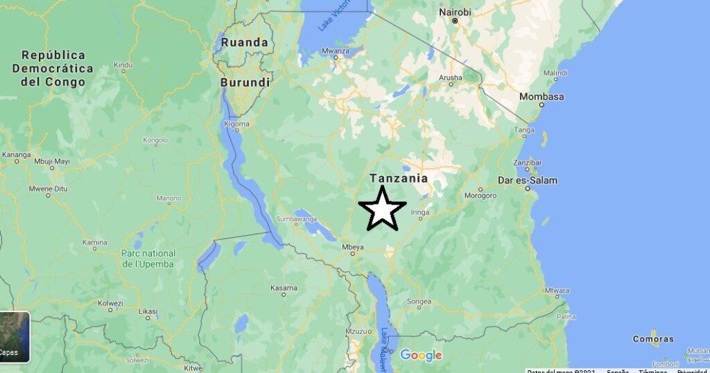 ¿Dónde se encuentra el país de Tanzania