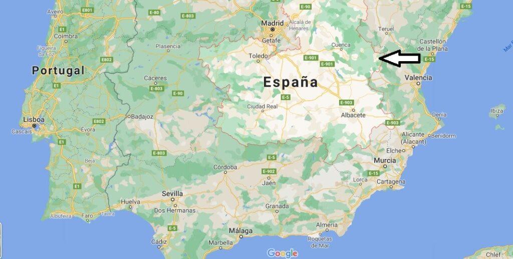 ¿Dónde se sitúa Castilla-La Mancha