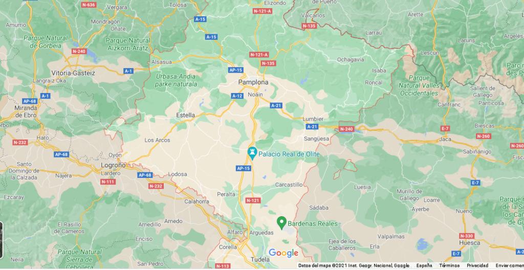 ¿Qué ciudades pertenecen a Navarra