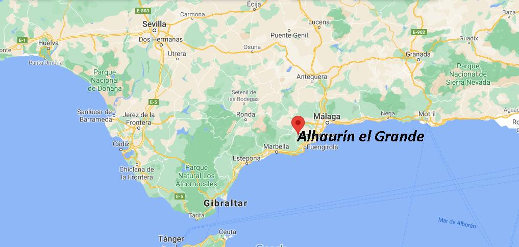 ¿Dónde está Alhaurín el Grande