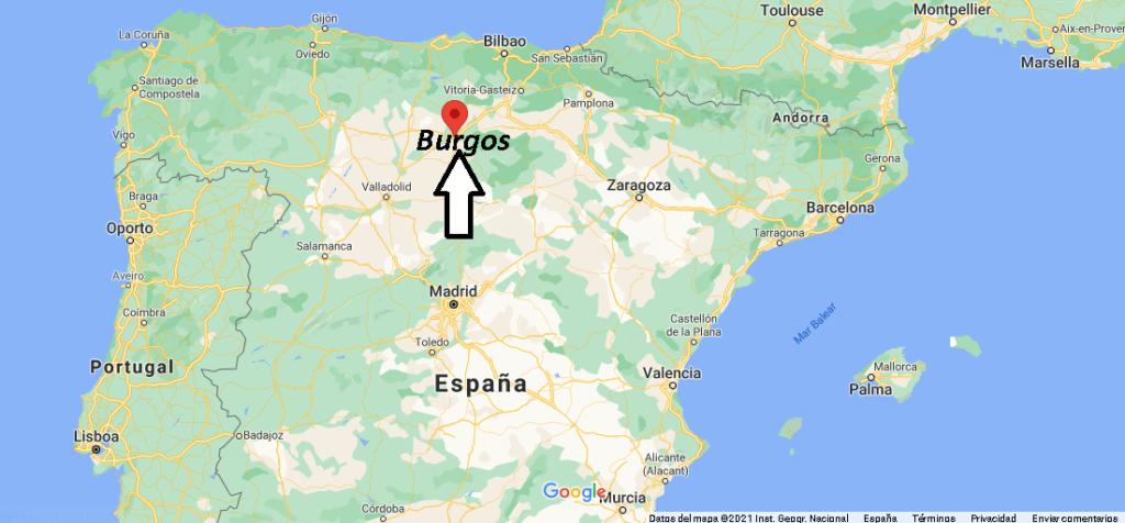 ¿Dónde está Burgos