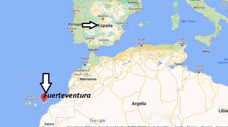 ¿Dónde está Fuerteventura