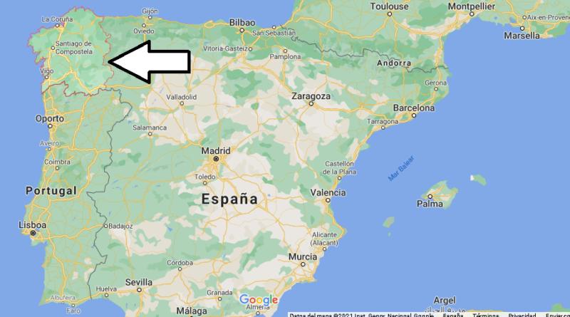 ¿Dónde está Galicia