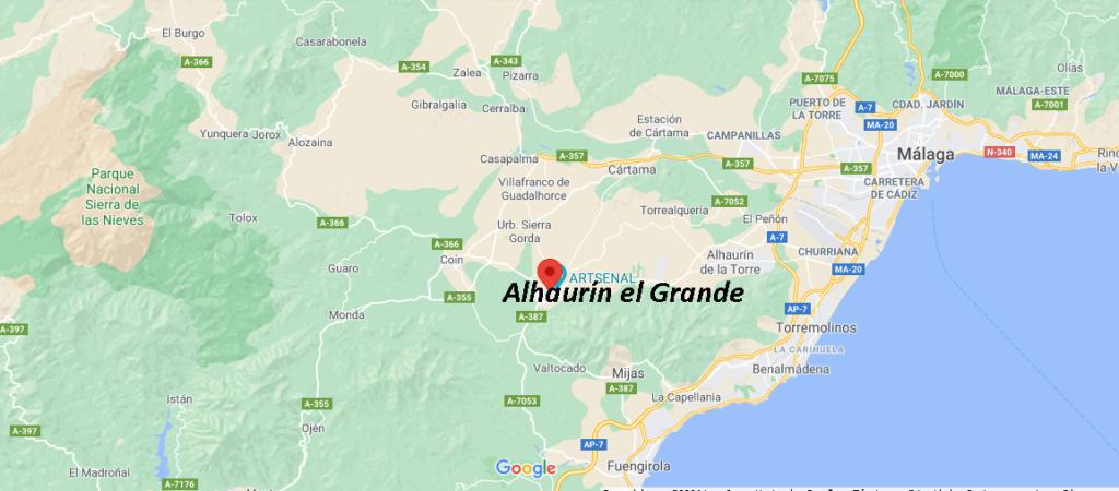 ¿Dónde queda Alhaurín el Grande