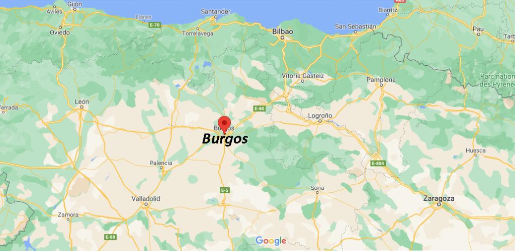 ¿Dónde queda Burgos