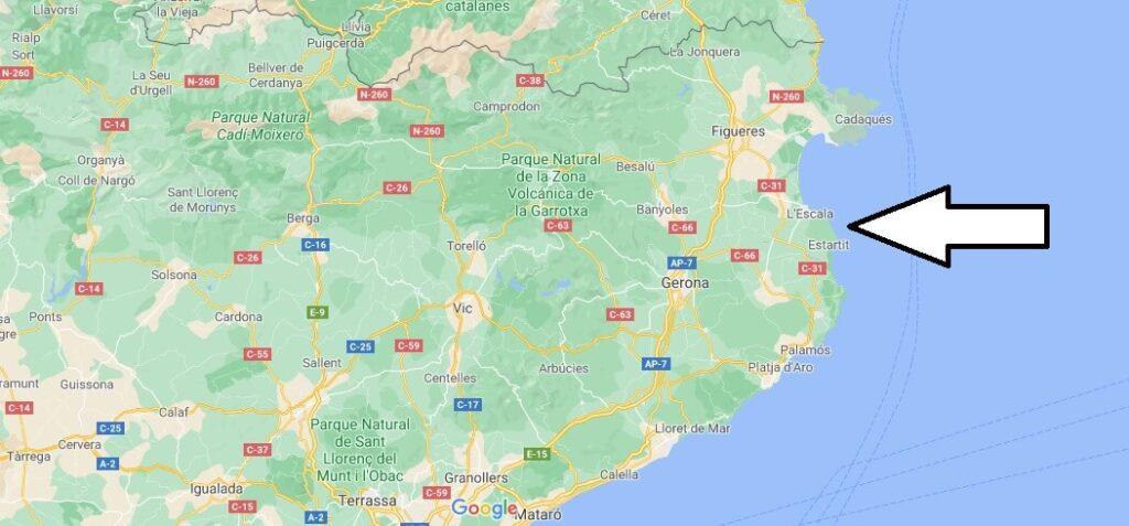 ¿Qué ciudades pertenecen a la Costa Brava