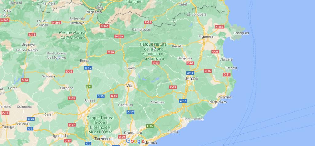 ¿Qué provincia pertenece la Costa Brava