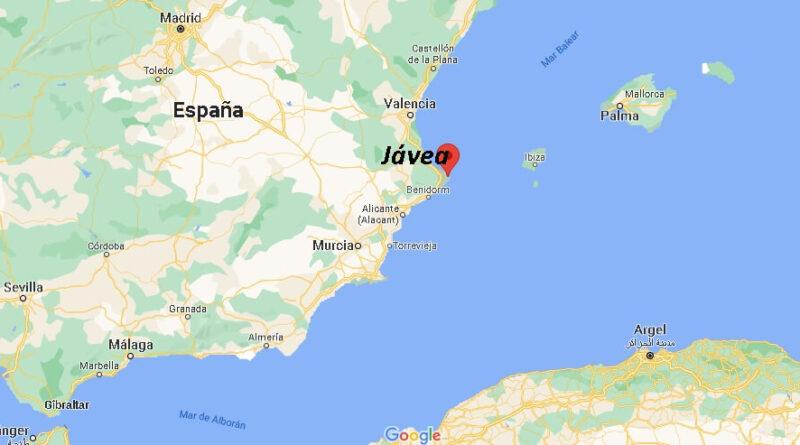 ¿Dónde está Jávea