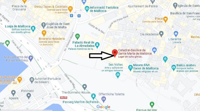 ¿Dónde está La catedral de Mallorca