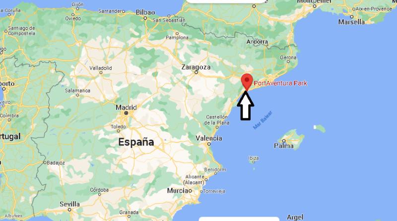 ¿Dónde está PortAventura Park