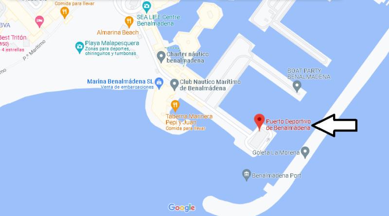¿Dónde está Puerto Deportivo de Benalmádena