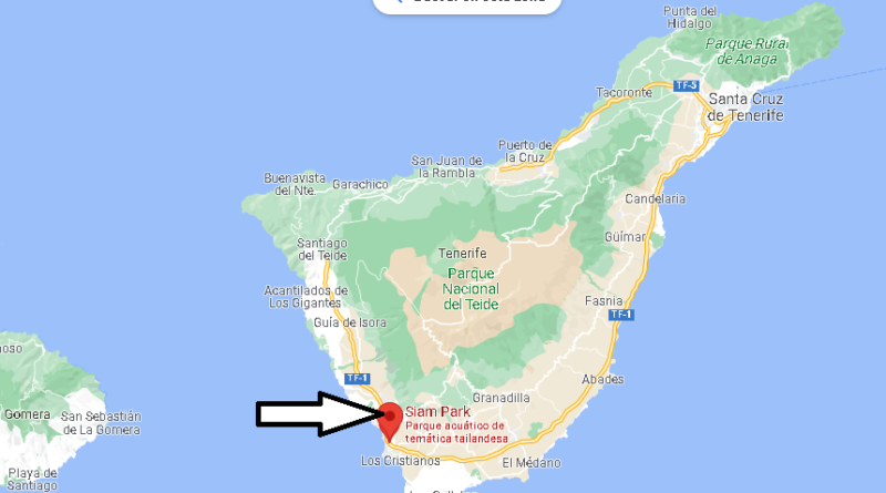 ¿Dónde está Siam Park