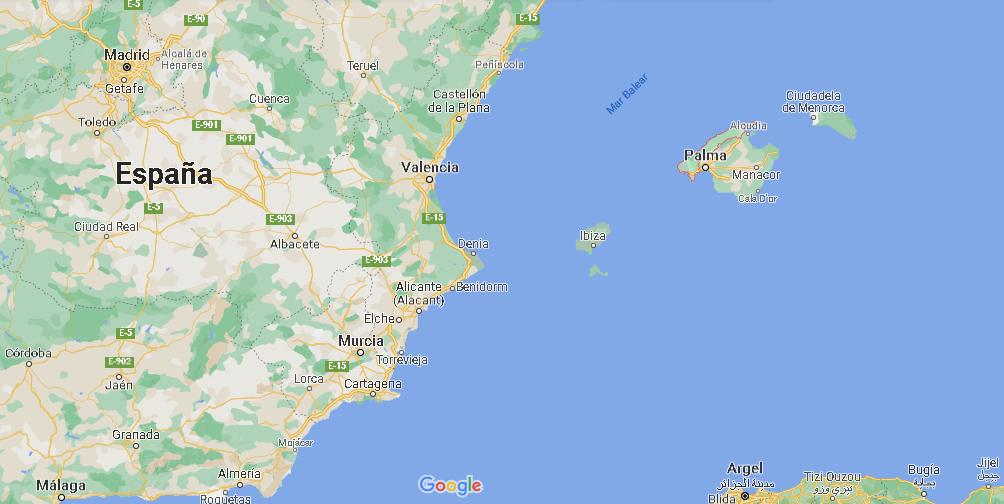 ¿Dónde está Sierra de Tramontana