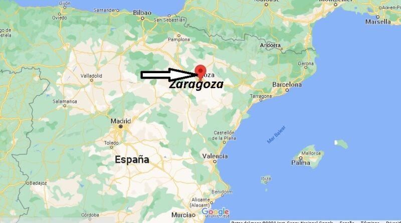 ¿Dónde está Zaragoza