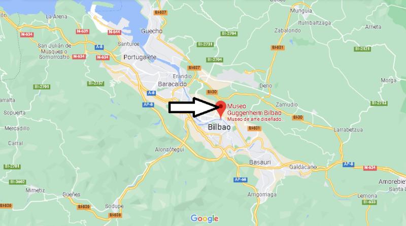 ¿Dónde está el Museo Guggenheim Bilbao