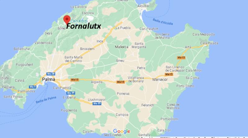 ¿Dónde está Fornalutx