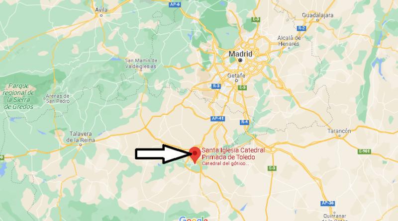 ¿Dónde está Catedral Primada Toledo