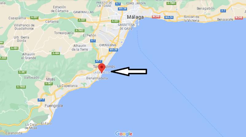 ¿Dónde está La Carihuela