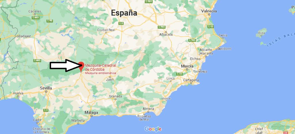 ¿Dónde está la mezquita de Córdoba