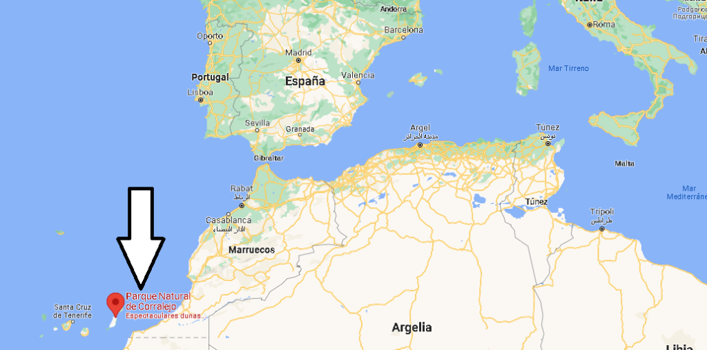 ¿Dónde se encuentran las dunas de Corralejo